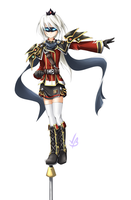 [Elsword] Commission - Laystritt by redmaple928
