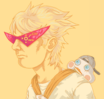 Of Rock Mullets and Robo Glasses by b-dangerous