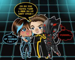 TRON Pick-up Line by Psy-CHO-Aoi