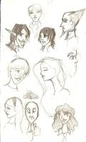 Floating Heads by maranianthe