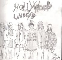 hollywood undead by Eddie-Nash