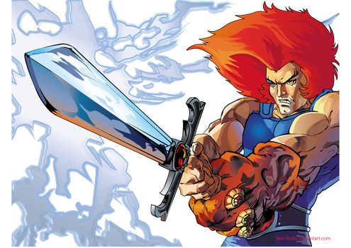 Vector image: Lion-O by Red-Birdie