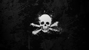 Pirate flag wallpaper by GaryckArntzen