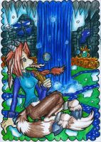 SeCreT PlAcE iN WinTeR TunDrA by white-dragoness