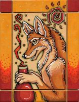 Coyote's Fire Potion II by XianJaguar
