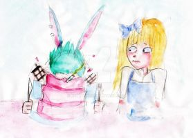 Alice does NOT approve by keytaro