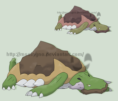 Fakemon Matamatain by mssingno