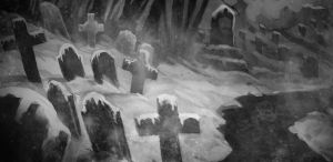cemetery by notya-chan