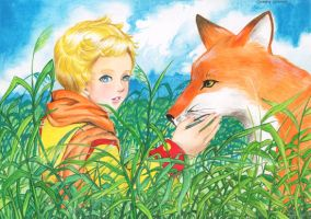 Le Petit Prince by Archie-The-RedCat