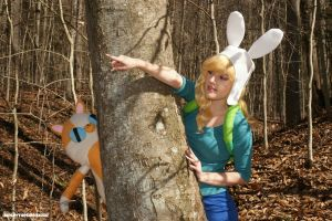 Fionna The Human: Cake, Look! by HarleyTheSirenxoxo