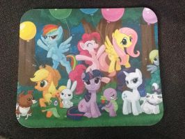 My little pony mouse pad by AgentLaffey119