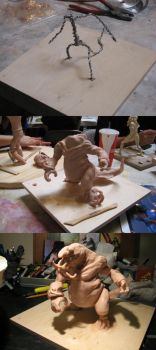 My adventures in sculpting 6 by Chenzan