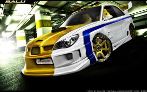 Subaru Impreza Wide-body by Balu32