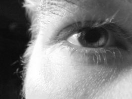 B and W Eye II by youngunlovedpoet