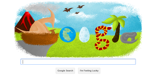 Google 4 Doodle by wolfycatlover38