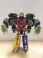 MMPR - Legacy Dragonzord in Mega Dragonzord Mode! by ryanthescooterguy