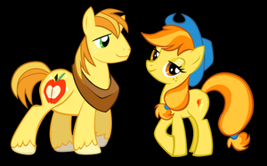 Braeburn and Spitfire Alternate Version by 3D4D