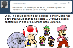 Ask Toad - Red? by pocket-arsenal