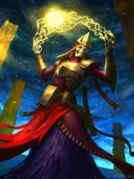 The Lich by Vablo