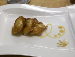 Almond Cream Cheese Wontons by Er-ca