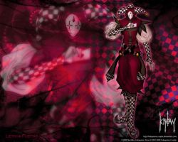 WO2EIt4 Arlequin by Leto4rt