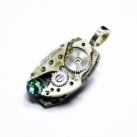 WAR BIRD Steampunk Pendant by Create-A-Pendant