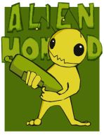 Alien Hominid by LeftyLike