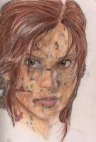 Tomb raider drawing by Maroonz80