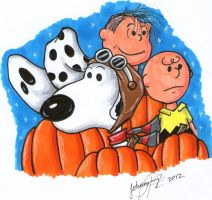 It's the Great Pumpkin, Charlie Brown by johnnyism