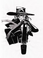Alucard - Devil's shooter -1- by ImpurDeath