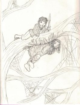 Fili, Flies, and Spiders by Hasami-hime