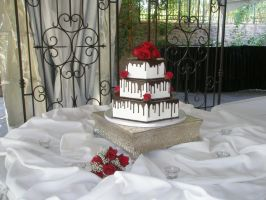 wedding cake 37 by ninny85310