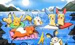 Swimming PKMN by Endless-Mittens