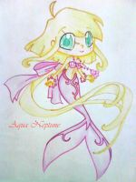Chibi Mermaid Alice by Charming-Manatee