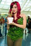 Poison Ivy and Baby Groot Cosplay Sara Marinello by wbmstr
