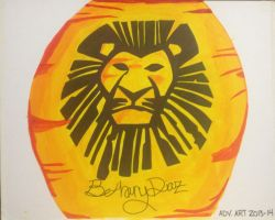 Lion King Painting by copyninja31