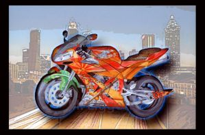 Japanese Motorcycle by 0AngelicWings0