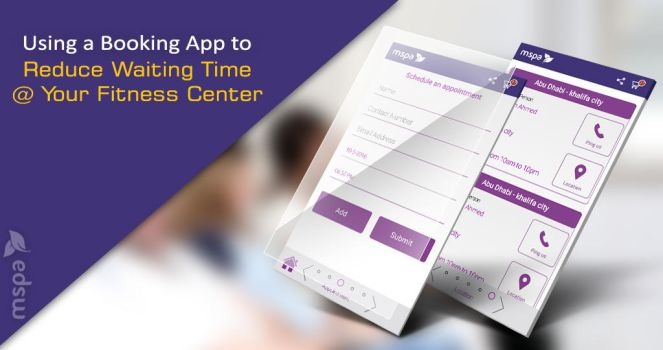 Online Appointment Booking App for Fitness Center by mspaapp