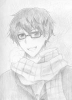 Scarf and Glasses by mikai02