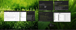 Current desktop by Cisoun