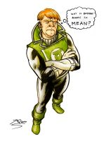 Green Lantern, Guy Gardner by quin-ones
