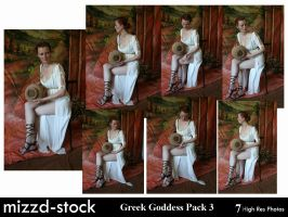 Greek Goddess Pack 3 by mizzd-stock