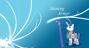 Shining Armor 'Splash' wallpaper by FalconShy1600
