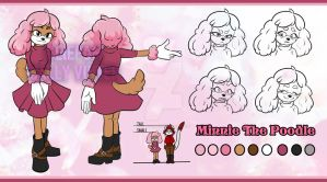 Minnie The Poodle - Reference Sheet by SallyVinter