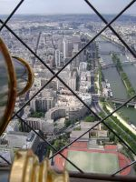 Looking Down on Paris... by medievalfaery