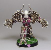 BLOODBOWL Chaos Warrior by FraterSINISTER
