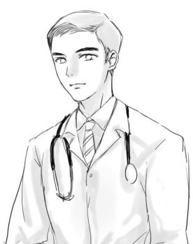 doctor blaine anderson by Jackclamp