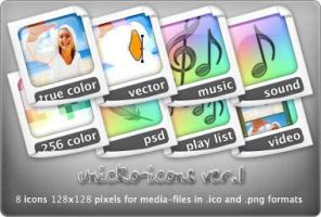 unicko-icons ver.1 by unicko