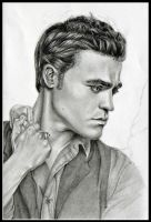 Paul Wesley - Stefan Salvatore by chandi1703