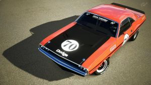 1970 Dodge Challenger R/T RM (Gran Turismo 5) by Vertualissimo